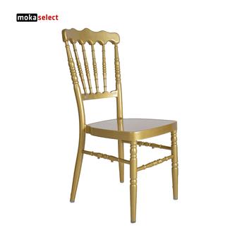 alibaba royal chairs revolving chair gif romantic avantgarde fancy classic white silver gold aluminium tube napoleon wedding for sale