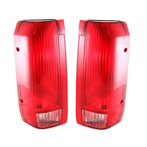 small resolution of get quotations taillights taillamps rear brake lights pair set for ford f series truck