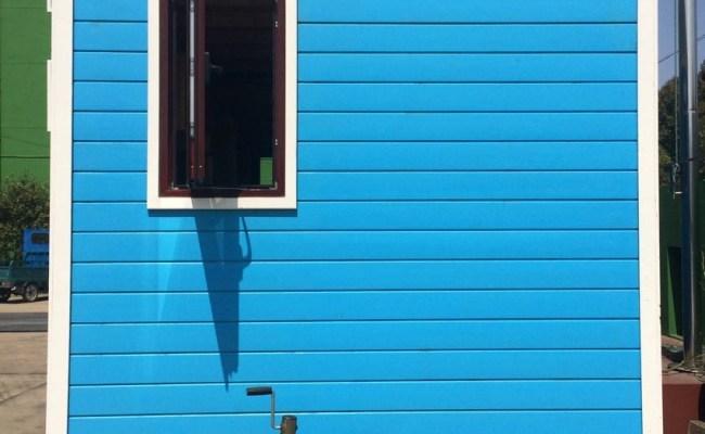 2017 Popular Prefab Tiny House On Wheels Mobile Workshop