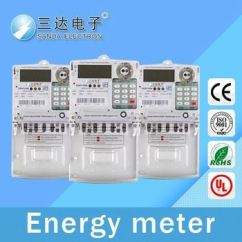 Watt Hour Meter Wiring Diagram For Ac Unit Capacitor Of 3 Phase Energy Positive And Negative Revolution Electronic
