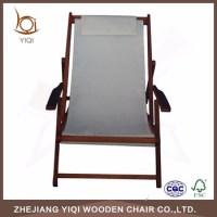 Adjustable Wood Folding Canvas Beach Chair - Buy Canvas ...