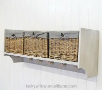 Top Level Wicker Storage Basket For Shelves - Buy Wicker ...