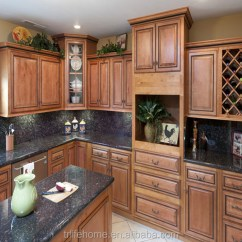 Red Oak Kitchen Cabinets Sink Farmhouse Style New Arrival Modern Modular Commercial Free Used Design Price