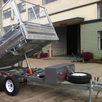 semi trailers for sale in germany johnson outboard ignition wiring diagram galvanized garden tools atv dump trailer single axle 4t box tipper farm