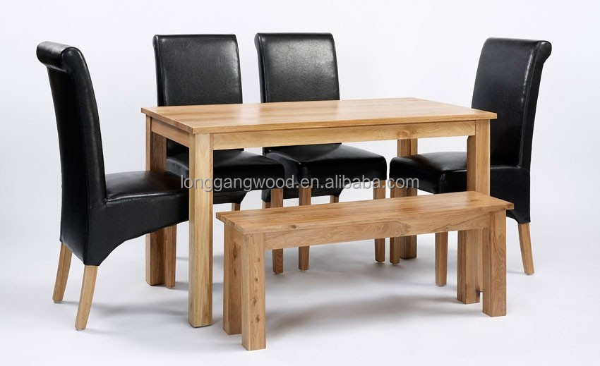 oak kitchen table sets white stone countertops malaysian wood dining room furniture buy new