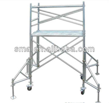 Construction Working Platform Frame Scaffold ( Real