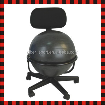 gym ball chair buy chiavari chairs half fit fitness yoga pilates exercise balance view