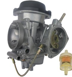 get quotations zoom zoom parts performance carburetor kawasaki kfx 400 kfx400 kf x 400 2003 2006 [ 1500 x 1500 Pixel ]