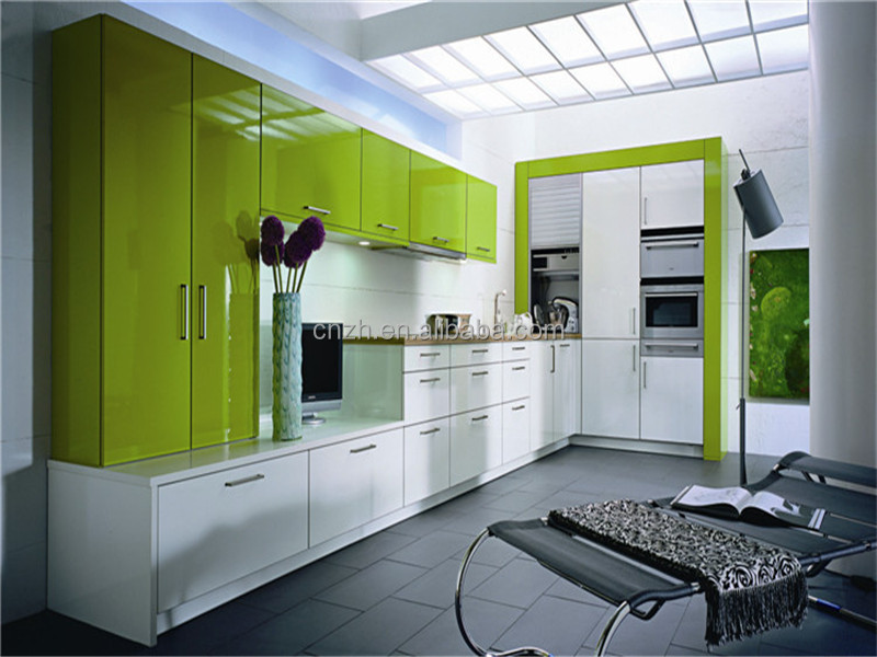 acrylic kitchen cabinets garbage modular high glossy lacquer buy
