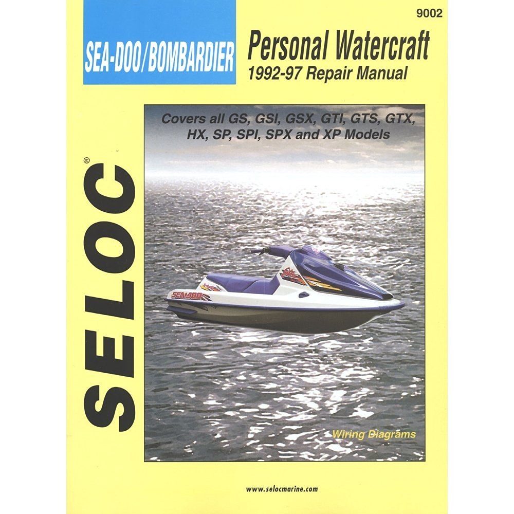 hight resolution of get quotations man seadoo pwc bombardier92 97