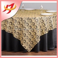 New Style Elegant Silver Beaded Sequin Table Overlay,Silve ...
