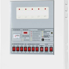 Conventional Fire Alarm Control Panel Wiring Diagram Goodman Ac Thermostat Cm P1 System 5 Zones 100 Switch Board Buy