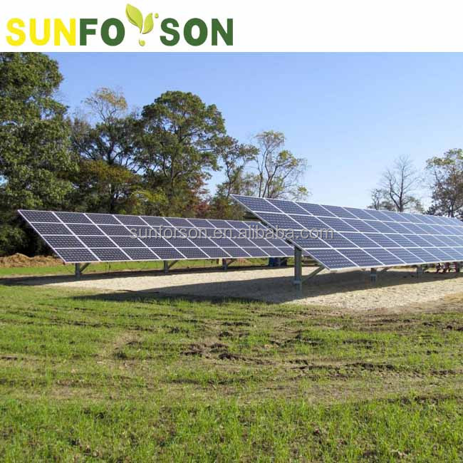 Solar Panel Ground Mounted With Pile Driven Buy Solar Panel Ground Mounted Solar Ground Mounting System Solar Ground Mounted Product On Alibaba Com