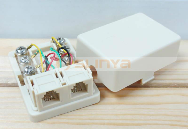 Telephone Jack Wiring Rj11 Waterproof Telephone Distribution Box Telephone Cable