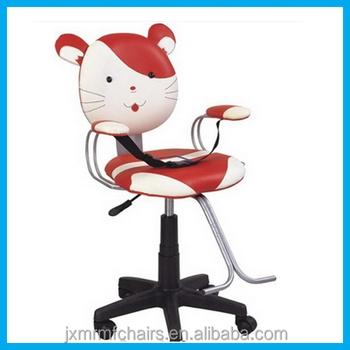 kids salon chair beach chairs with footrest professional kid children barber for sale jxk010