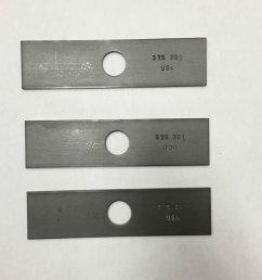 get quotations 3 pack 8 stick edger blade husqvarna echo redmax stihl shindaiwa edger blade [ 1500 x 1500 Pixel ]