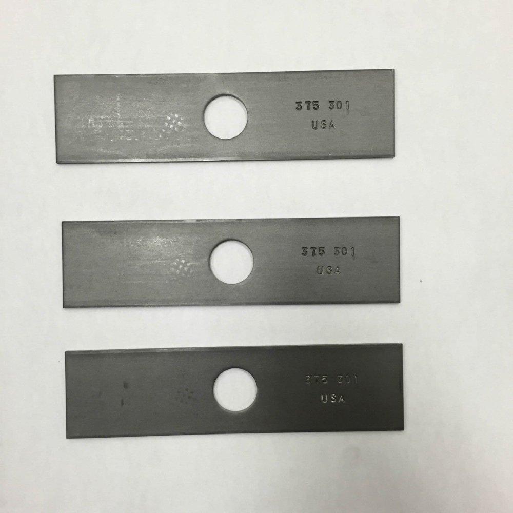 medium resolution of get quotations 3 pack 8 stick edger blade husqvarna echo redmax stihl shindaiwa edger blade