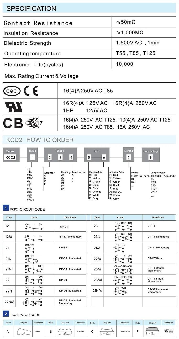 medium resolution of kcd2 rocker switch kcd5 rocker switch wiring diagram kcd11 rocker switch 16a 250v