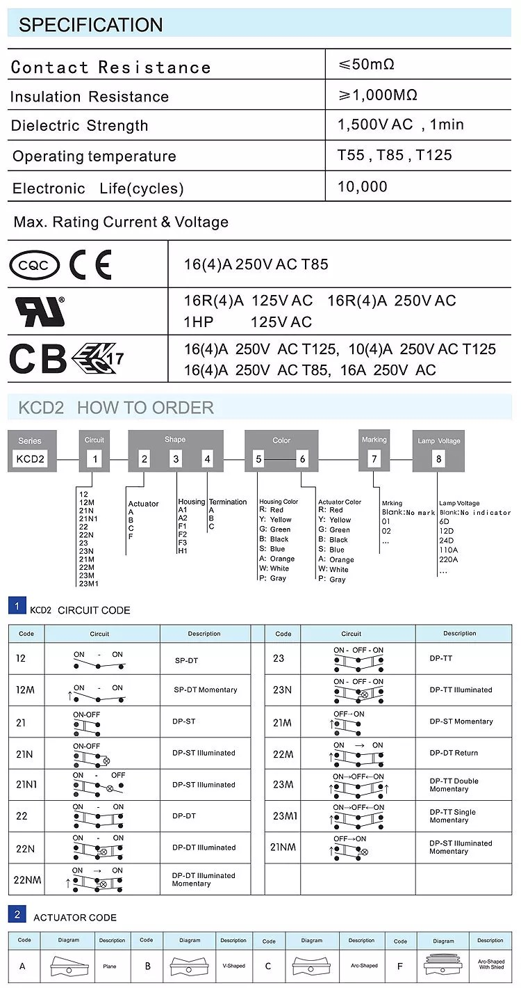 hight resolution of kcd2 rocker switch kcd5 rocker switch wiring diagram kcd11 rocker switch 16a 250v