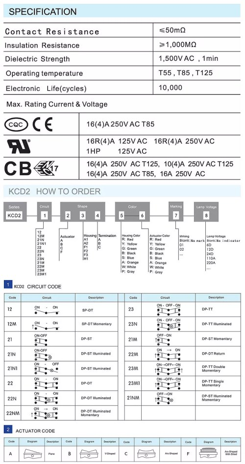 small resolution of kcd2 rocker switch kcd5 rocker switch wiring diagram kcd11 rocker switch 16a 250v