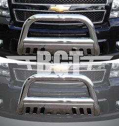 get quotations bgtbb 950dss 99 06 chevy tahoe front 3 bull bar with skid plate [ 1024 x 768 Pixel ]