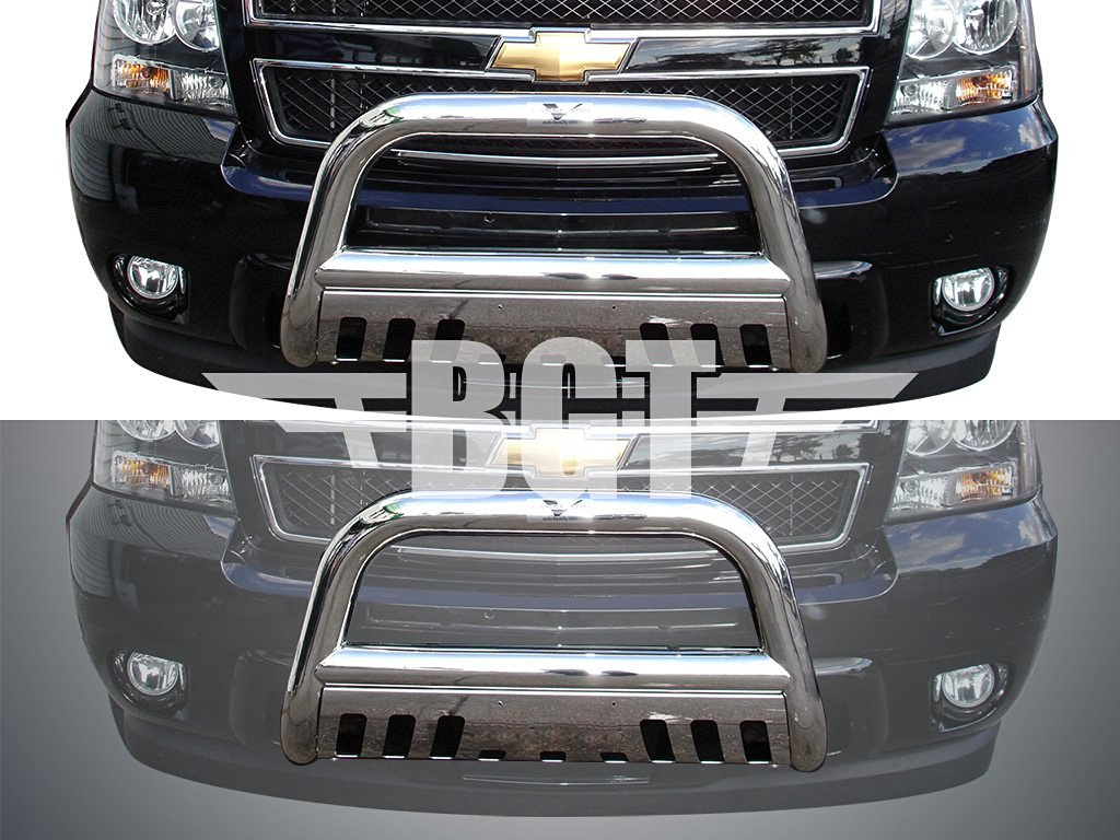 hight resolution of get quotations bgtbb 950dss 99 06 chevy tahoe front 3 bull bar with skid plate