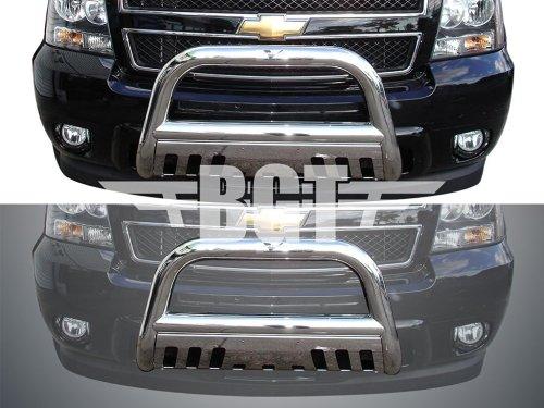 small resolution of get quotations bgtbb 950dss 99 06 chevy tahoe front 3 bull bar with skid plate