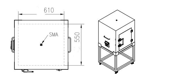 Factory Ms6155 Shielding Enclosures For Emc And Rf