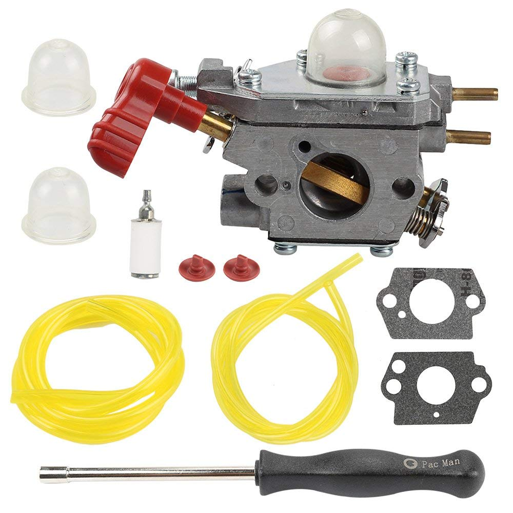 hight resolution of get quotations hilom c1u p27 carburetor with fuel filter line for mtd troybilt ms2550 ms2560 ms9900 rm430