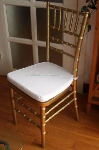 Used Wood Stacking Chiavari Tiffany Wedding Chairs For Hot ...