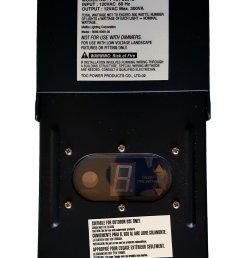 get quotations malibu tdc power ptst 30012 12v ac low voltage transformer 300w 3000 0300 [ 1200 x 1806 Pixel ]
