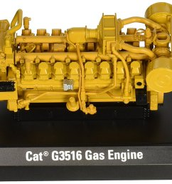 get quotations cat g3516 gas engine 1 25 scale caterpillar yellow [ 1500 x 1044 Pixel ]