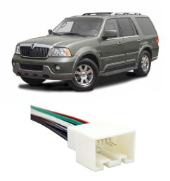 get quotations lincoln navigator early 2003 factory to aftermarket radio harness adapter [ 1000 x 1000 Pixel ]