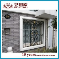 2016 Latest Window Grill Design/simple Decorative Wrought ...