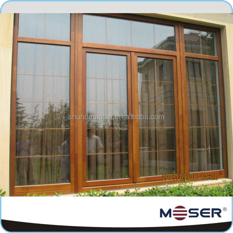German Style Antique Wood Window Frame