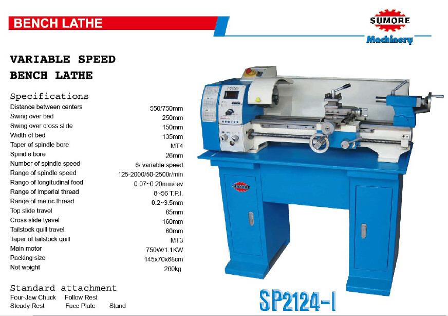 Central Machinery Lathe Chuck Size