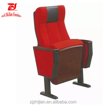 movie chairs for sale chair height toilet used church cinema with writing pad zjl1011b