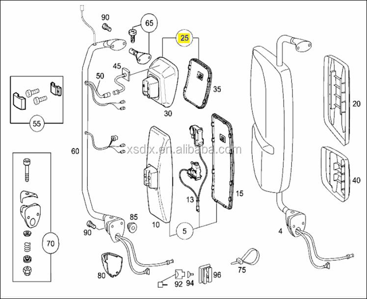 Onderdelen Voor Mercedes Benz Actros Mp1 Mp2 Mp3 Axor