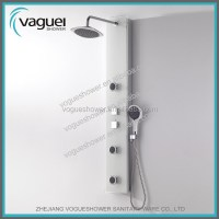 Elegant Design Decorative Shower Panel/tempered Glass