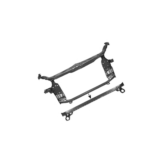 Auto Parts Radiator Support For Nissan Qashqai 07-10 62500