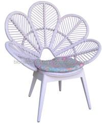 Paon en rotin fleur chaise-Chaises de salon-ID de produit ...
