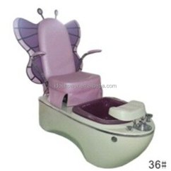 Child Pedicure Chair Bedroom Sitting Room Chairs Kids Butterfly With Pink For