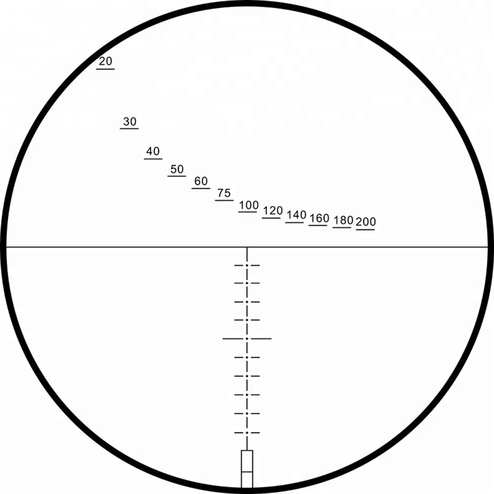 MARCOOL Optique EVV 4-16X44 premier plan focal de tir de