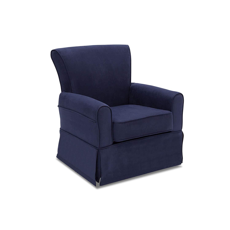 swivel rocking chair parts best bean bag reddit cheap glider find get quotations svitlife benbridge nursery rocker navy