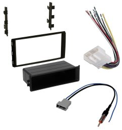 nissan 2014 versa note car stereo dash install mounting kit wire harness radio antenna adapter [ 1000 x 1000 Pixel ]