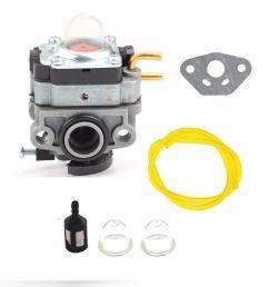 get quotations hq parts carburetor kit for cub cadet cc148 cc149 tiller cultivator gasket fuel filter [ 1000 x 1000 Pixel ]