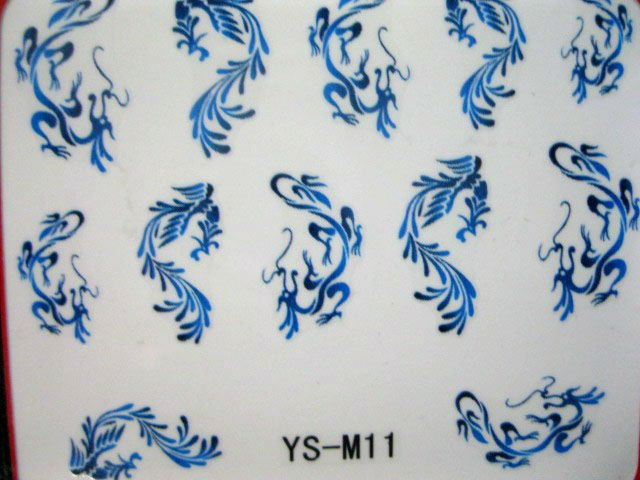 Nail Art Decals Transfers Stickers