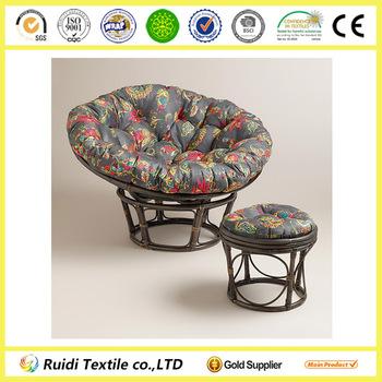 papasan chair stool cushions ergonomic repair antigua micro suede outdoor cushion buy