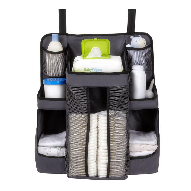 Ultimate Nursery Diaper Change OrganizerHanging Crib Diaper Organizer  Buy Crib Diaper