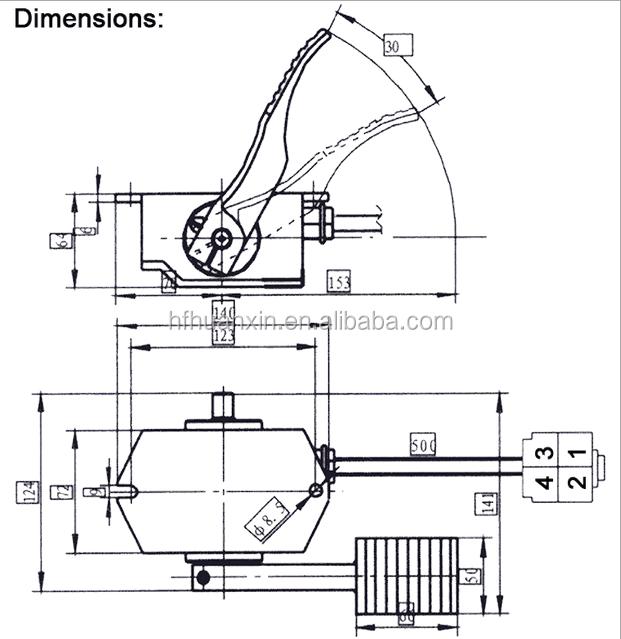 24-80v Brand New Electronic Accelerator Pedal Assembly